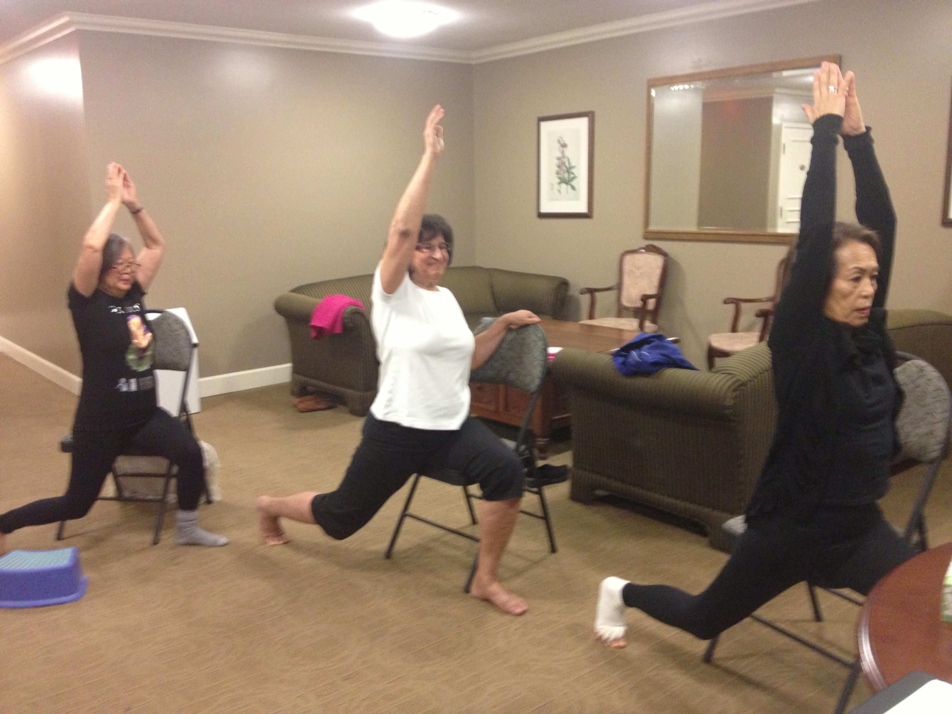 Ageless Yoga with Annette Wertman